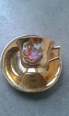 Limoges gold tea/coffee cup
