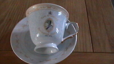 queens jubilee 1952-2012 cup and saucer