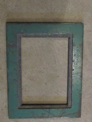 Vintage Slate Heating Register Vent Frame