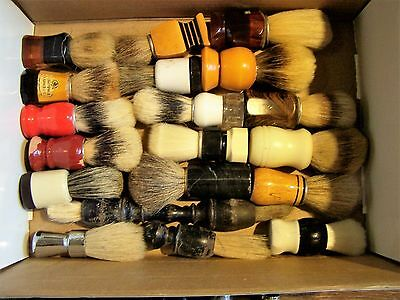 Konvolut Rasierpinsel / Lot of shaving brushes No.4