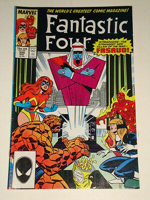Marvel Fantastic Four Issue # 308 Nov 87 'fasaud!' Good Condition