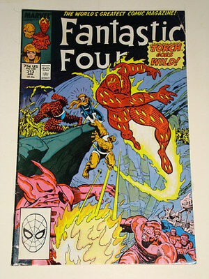 Marvel Fantastic Four Issue # 313 Apr 88 'tunnels Of The Mole Man' Av-Gd Con