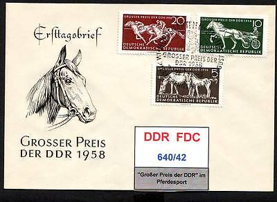 DDR-FDC 640/42, gestempelt, s. scan