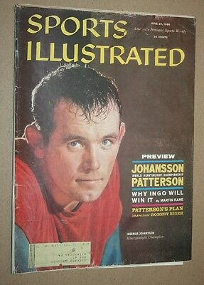 Sports Illustrated June 20, 1960 football vg