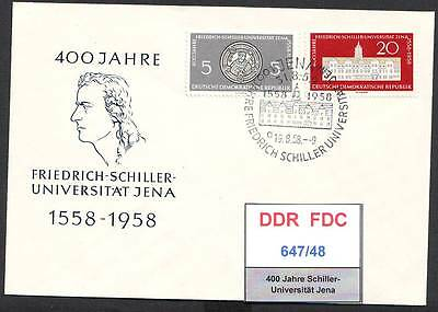 DDR-FDC 647/50, gestempelt, s. scan