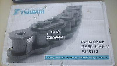 New Tsubaki Rs80-1-Rp-U A110113 Roller Chain 120 Links