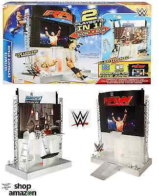 WWE Ultimate Entrance Stage 2 In 1 Electronic Playset -Brand New Stocking Filler