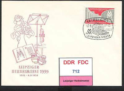 DDR-FDC 712-714, gestempelt, s. scan