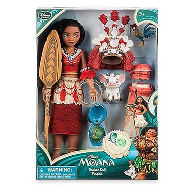"DISNEY MOANA : SINGING FEATURE DOLL SET 11"" - New"
