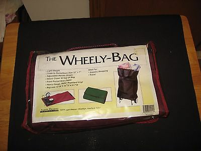 New Wheely Bag-Grocery Cart