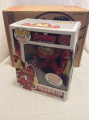 Hulkbuster - Funko Pop! Vinyl 73 - Marvel Collector Corps Avengers Age Of Ultron