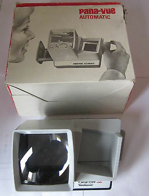 """Slide viewer 35mm  PANA-VUE AUTOMATIC """"VIEWMASTER"""" boxed with instructions"""
