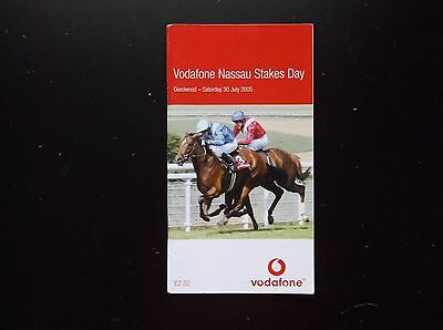Race Card Goodwood 2005 Stewards Cup/nassau Stakes
