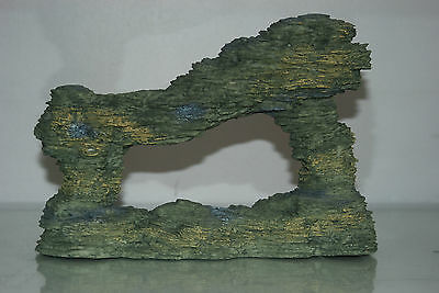 Aquarium Large Sculptured Arizona Rock Ornament 25x9x17 cms For All Aquariums