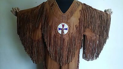 American Indian Authentic Leather Reservation/Ceremonial Dress