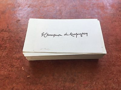 Large Autograph Mixed Archive Collection from the 1930s