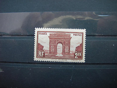 1929   timbre france yt n° 258  neuf **