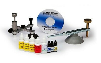 Professional Stone-Damage Windshield Repair Upgrade Kit for Stone/Star/Chips