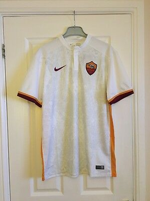 Nike As Roma 2015/16 Away Shirt Size Large Bnwt