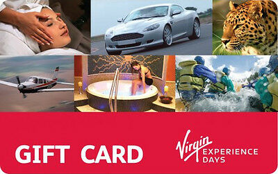 Virgin Experience Days Voucher - £100 - Expires July 2017