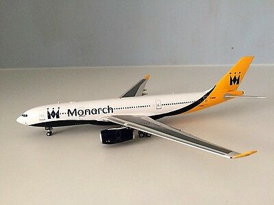 AIRBUS A330-200 MONARCH G-SMAN a die-cast model in 1/200 scale