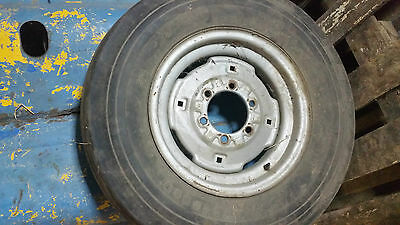Massey Ferguson 165 Ford 4000 5000 wheel tyre old vintage classic tractor Fordso