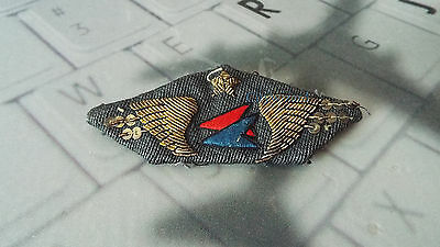 Air Inter French Airlines Pilot Capt Flight Crew Wing Insignia #3