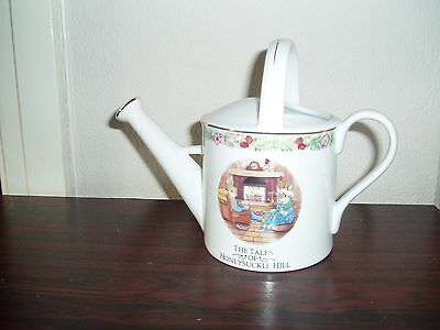 Regency Fine Arts Ceramic Watering Can The Tales Of Honeysuckle Hill .