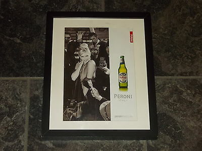 Peroni beer-Original advert Framed ready for your wall