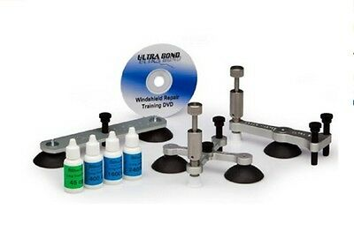 Deluxe Upgrade Kit Break into chips & long crack with this Windshield Repair Kit