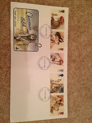 GB Stamps First Day Covers Christmas 1984