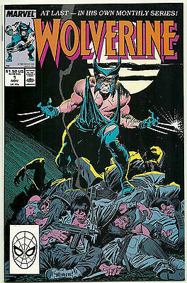 Wolverine #1 VF 1988 Marvel Comics 1st series key issue 1st appearance Patch