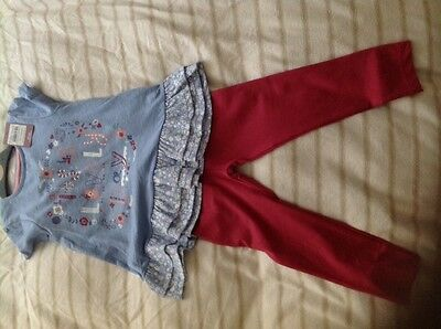 2 year old legging and top outfit