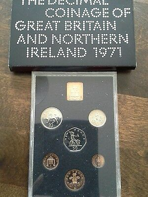 1971 United Kingdom And N. Ireland Proof Set Of Coins