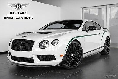 2015 Bentley Continental GT3-R  Bentley GT3-R Number 56 of 99 Produced for the USA