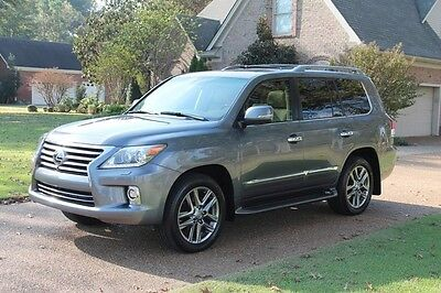 2014 Lexus LX 570 One Owner Perfect Carfax LX570 Mark Levinson Sound Michelin  Tires MSRP $91966