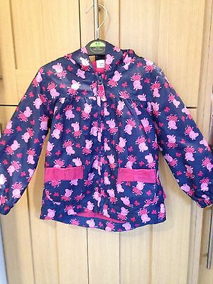 Peppa Pig Girls Hooded Jacket Age 2-3 Years Vgc