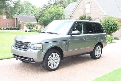 2011 Land Rover Range Rover HSE LUX Range Rover CPO Warranty Rear Seat Entertainment Vision Assist Pkg MSRP $90635