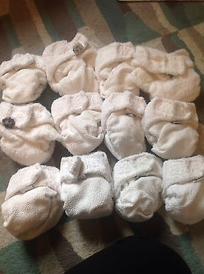 Little lamb nappies and wraps - Lots Size 1