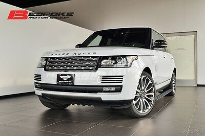 2016 Land Rover Range Rover SVAutobiography LWB Low Mileage, Less Than 5K Miles!
