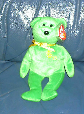 TY Beanie Baby - BILLIONAIRE 15 - Limited Edition signed by Ty