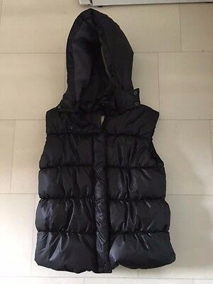 Gorgeous Next Girl's Black Padded Gilet Body Warmer Age 11 - 12