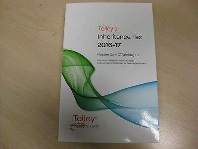 Tolley's Inheritance Tax 2016-17 by Malcolm Gunn Paperback Book