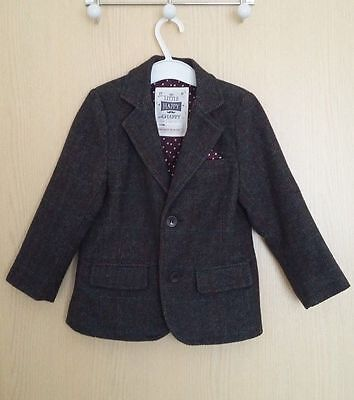 Next Boys Tweed WAIST COAT and BLAZER country style excellent condition