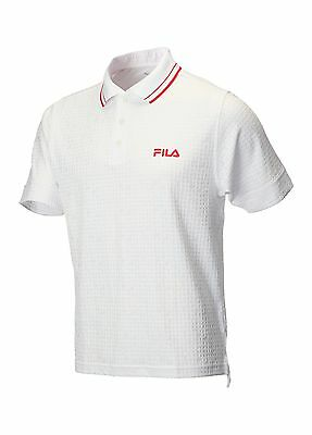 Fila X-Static Tipped Collar Polo Shirt White Extra Large