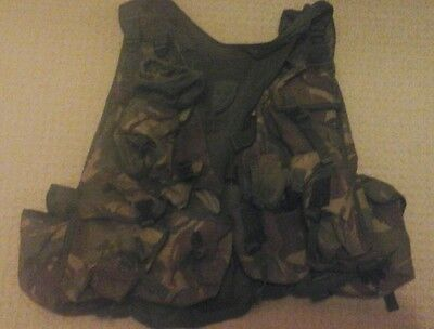 British Army DPM Tactical Assault Vest / Load Bearing / Webbing airsoft.