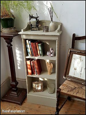 Painted Vintage Shabby Chic  Bookcase Farrow & Ball