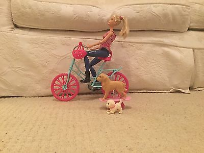 Barbie And Bicycle