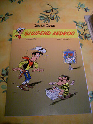 bd speciale en NL lucky luke BROCHE SLUIPEND BEDROG 2008 rare collection