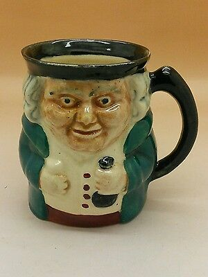Vintage SHORTER AND SON CHARACTER MUG TOBY 4 INCH TALL